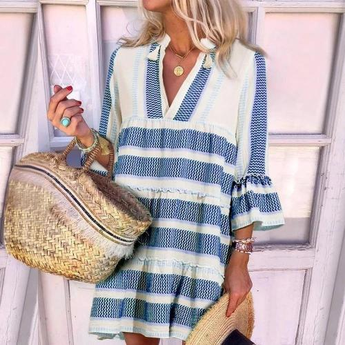 Beach Time Loose Casual Dress
