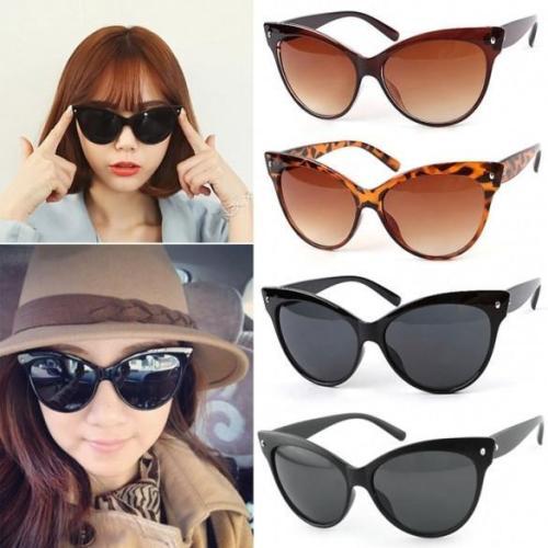 New Eyewear Women's Retro Vintage Shades Fashion Oversized Designer Sunglasses