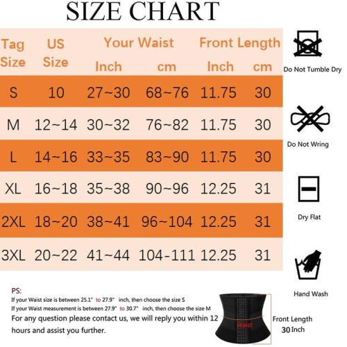 Women Waist Trainer Corset Trimmer Belt Body Shaper Cincher Neoprene Waist Shaper Sport Girdle Faja Shapewear Slimming