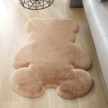 Soft Plush Bear Carpet For Living Room Baby Room Anti-slip Rug Home Floor Mat