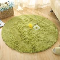 Round Rug Carpets for Living Room Carpet Kids Room  Long Plush Rug