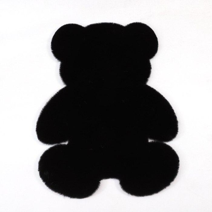 Soft Plush Bear Carpet For Living Room Baby Room Anti-slip Rug Home Floor Mat