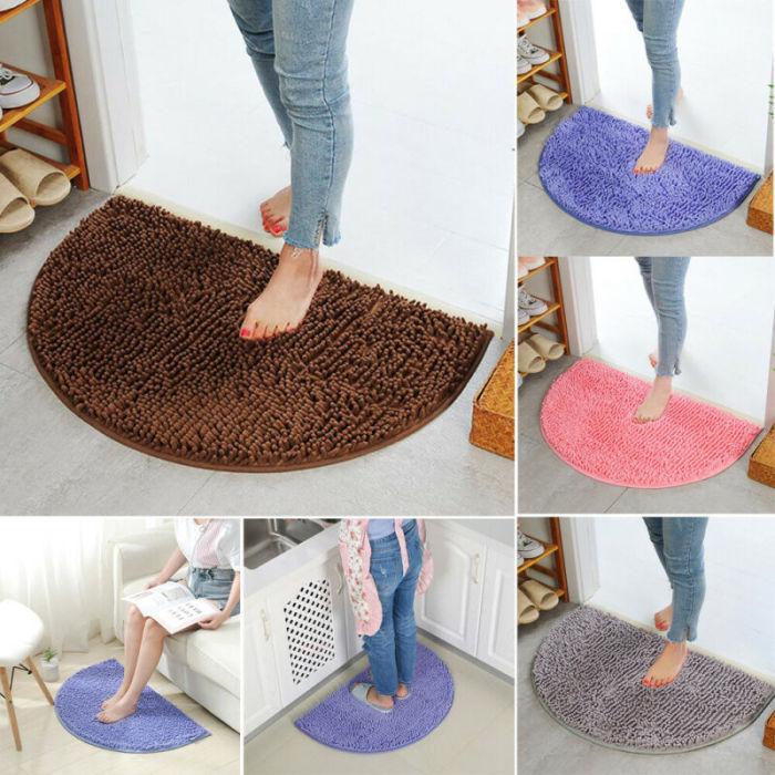 Soft Carpet Slip-resistant Bathing Room Rug Floor Door Mat Rug