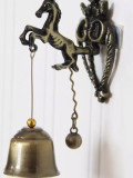 Vintage Horse Elephant Owl Shaped Bell Doorbell Halloween Hanging Door Decor Doorbell