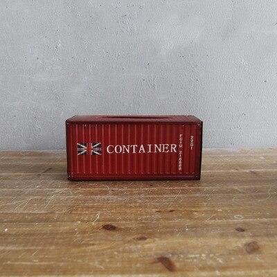Retro Design Iron Tissue Box