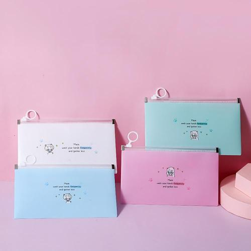 4pc Mask Cover Bag Portable Face Mask Storage Box