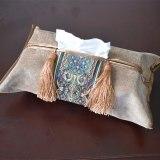 Embroidery Tissue Box Napkin Cover