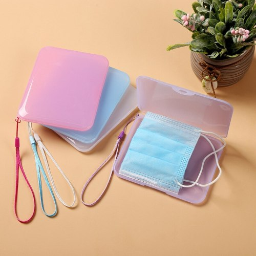 3 pcs Mask storage box Face masks case