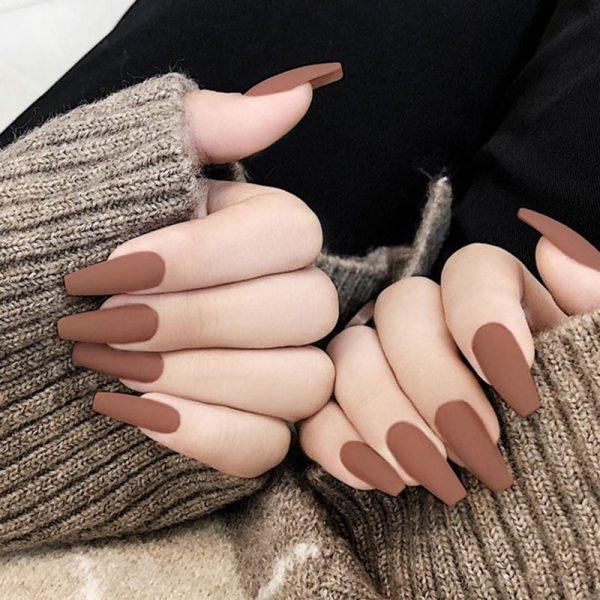 24PCS Elegent Fake Nails