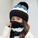 Womens Winter Beanie Hat Scarf Set
