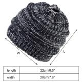 Women Ponytail Hat Beanie Knitted Cap