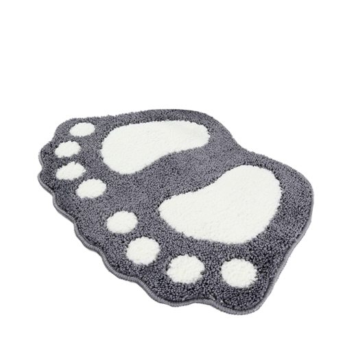 Bathroom Carpet Feet Printed Bath Mats