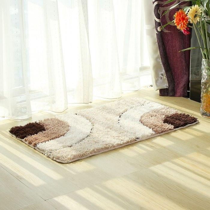 Cute Pattern Absorbent Bathroom Carpet Bath Mat
