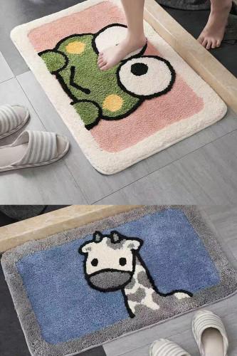 Bathroom Absorbent Carpet Bathroom Door Mat