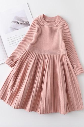 Baby Girl Long Sleeve Princess Sweater Dress
