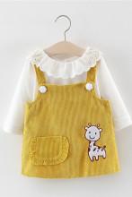 Baby Girl Long Sleeve 2pcs Suit Dress