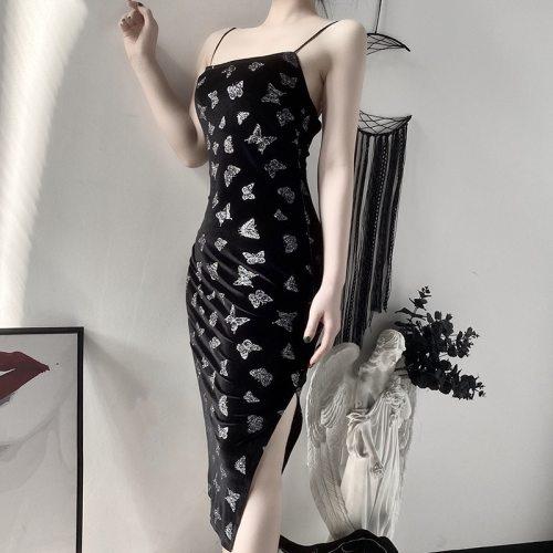 Gothic Vintage Grunge Long Dresses