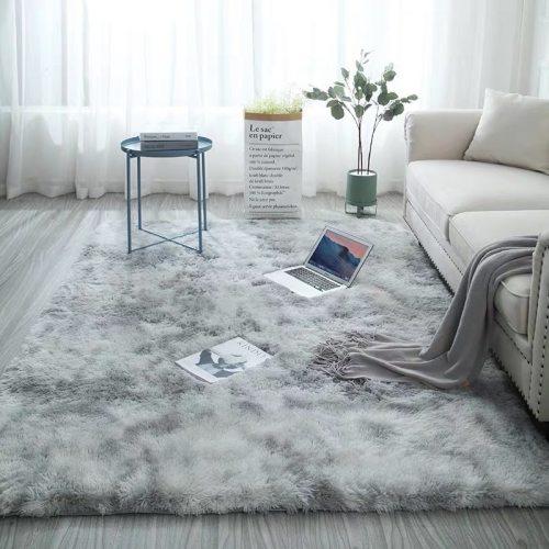 Nordic carpet simple modern bedroom bedside non-slip carpet