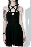 Women Punk Grunge Slim Sleeveless Dresses