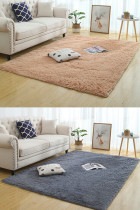 Rectangle Carpet Mat Fluffy Rugs Anti-Skid Shaggy Area Rugs