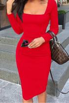 Womens Elegant Sexy Cocktail Party Slim Fit Dresses