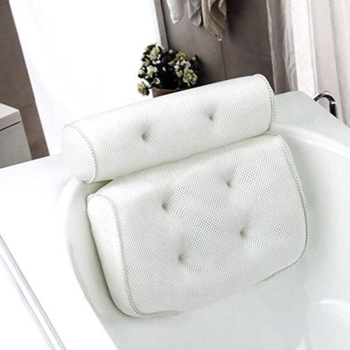 Spa Non-Slip Bath Pillow Bathtub Head Rest Pillow