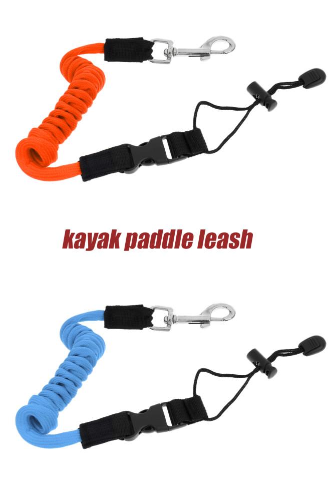 Elastic 55 inch/140cm Kayak Canoe Paddle Leash
