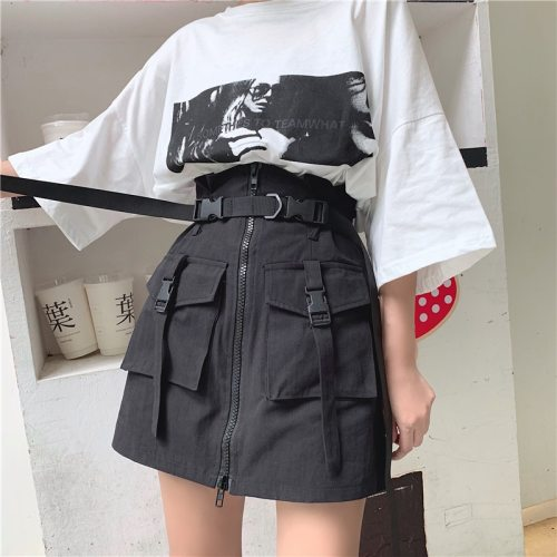 Gothic Vintage Harajuku High Waist Mini Skirt