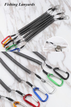 Flexible Fishing Lanyards Boating Ropes Kayak Secure Pliers Lip Grips