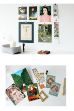 Print Kits 7sheets Photo Props Wall Decoration Postcard