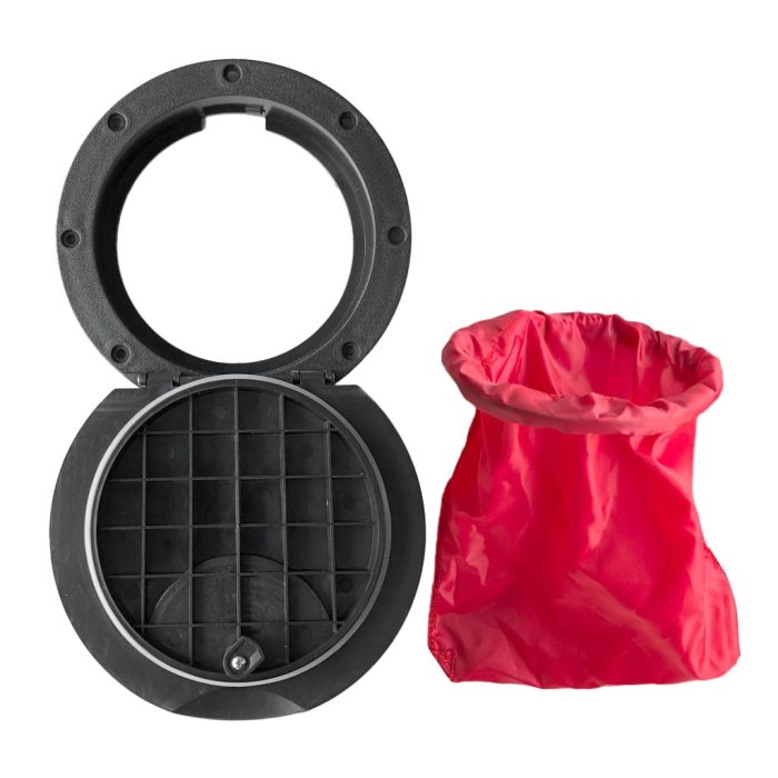 20cm Deck Plate Hatch Cover Kit with Storage Bag For Marine Boat Kayak Canoe