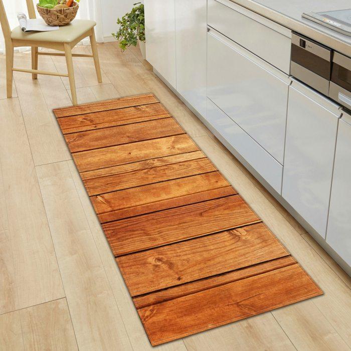Kitchen Mat Doormat Anti-Slip Long Rug