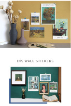 Art Print Kit Wall Sticker Collage Kit of 15 Sheets