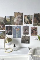 Retro Poster Prints 13 Sheets Postcard Art Paintings