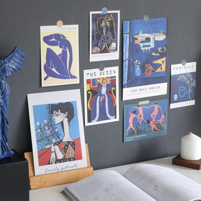 Art Print Kit Wall Sticker Collage Kit of 15 Sheets