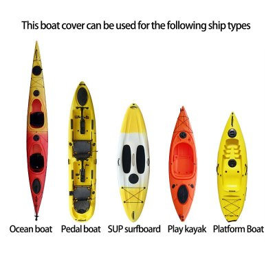 Kayak Cover Waterproof Canoe Storage Dust Sunblock Cover