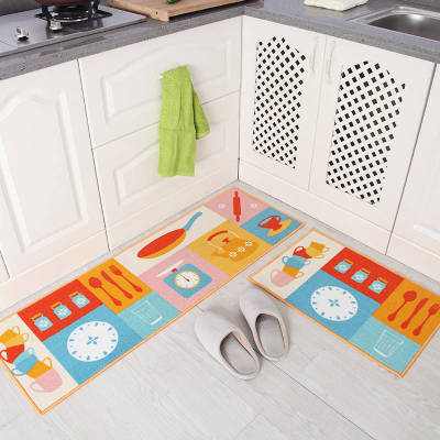 Long Kitchen Mat Floor Mat Absorbent Kitchen Rug