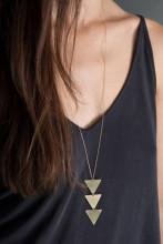 Women Gold Chain Choker Long Necklace Jewelry
