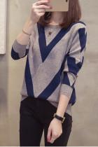 Women Slim Knitting Pullovers Loose Sweater