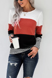 Woman Long Sleeve Knitted Sweaters