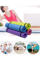 Yoga Mat Anti-skid Sports Fitness Mat 3MM-6MM Gymnastics Mat