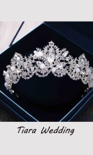 Baroque Crystal Bridal Crown Tiaras Hair Accessories