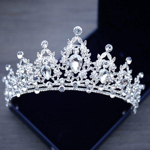 Crystal Tiaras Crowns Hair Accessories Diadem Hair Jewelry