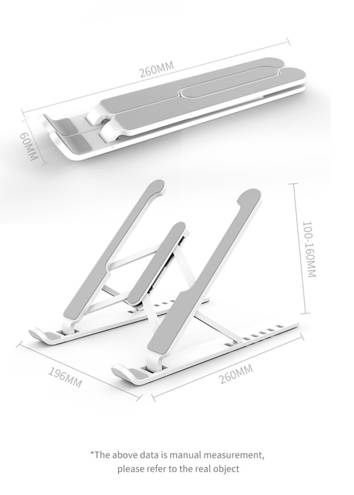 Adjustable Foldable Laptop Stand Non-slip Desktop Laptop Holder