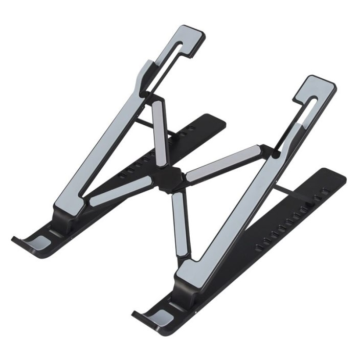 Foldable Height Adjustable ABS Laptop Stand