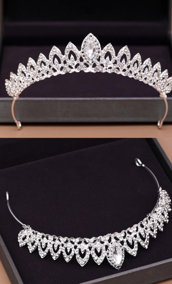 Bridal Tiara Hair Crown Wedding Hair Accessories