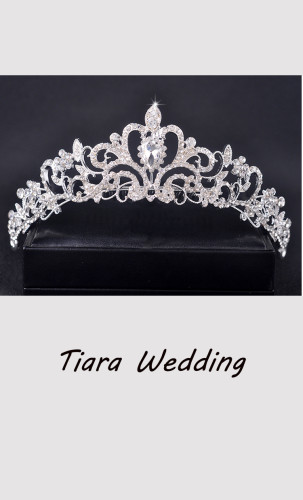 Bridal Princess Crown Headband Crystal Tiaras Wedding Jewelry Hair Accessories