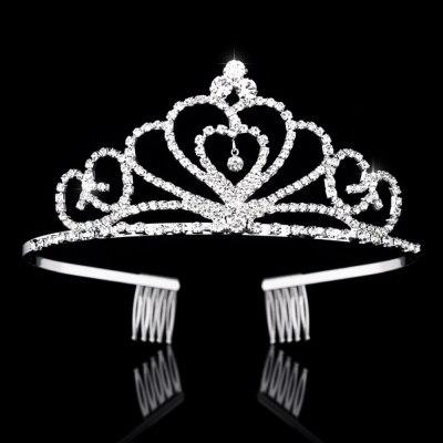 Bridal Crystal Tiaras and Crowns Headband Hair Jewelry