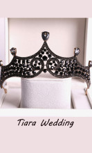 Crystal Bridal Tiaras Diadem Rhinestone Wedding Hair Accessories