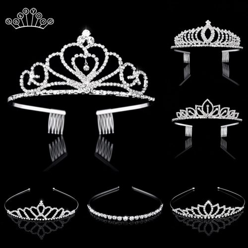 Bridal Crystal Tiaras and Crowns Headband Hair Jewelry